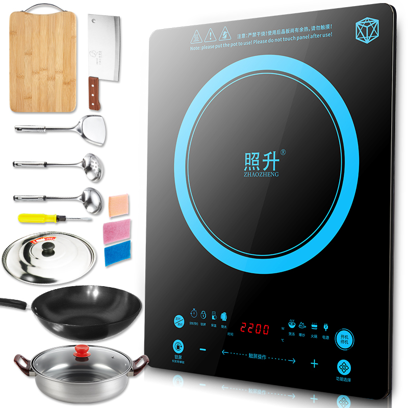 Special home waterproof touch screen, high power new type intelligent chafing dish stove
