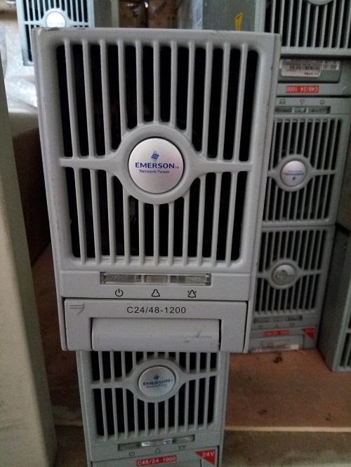 Emerson c24 / módulo de fuente de energía 48-1200, C24-48-1200 Emerson