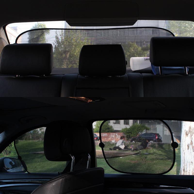 Front windshield cover, car sun shade, sun protection heat shield, rear bumper, aluminum foil sucker, general purpose of sun visor