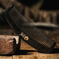 sandeltræ, horn, kam, kam sorte horn comb horn træ comb massage comb horn comb tand