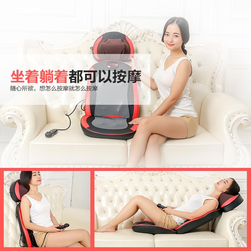 Costas ombro cintura cervical massageador de pescoço massagem almofada almofada de aquecimento elétrico de todo o Corpo funcional para USO doméstico