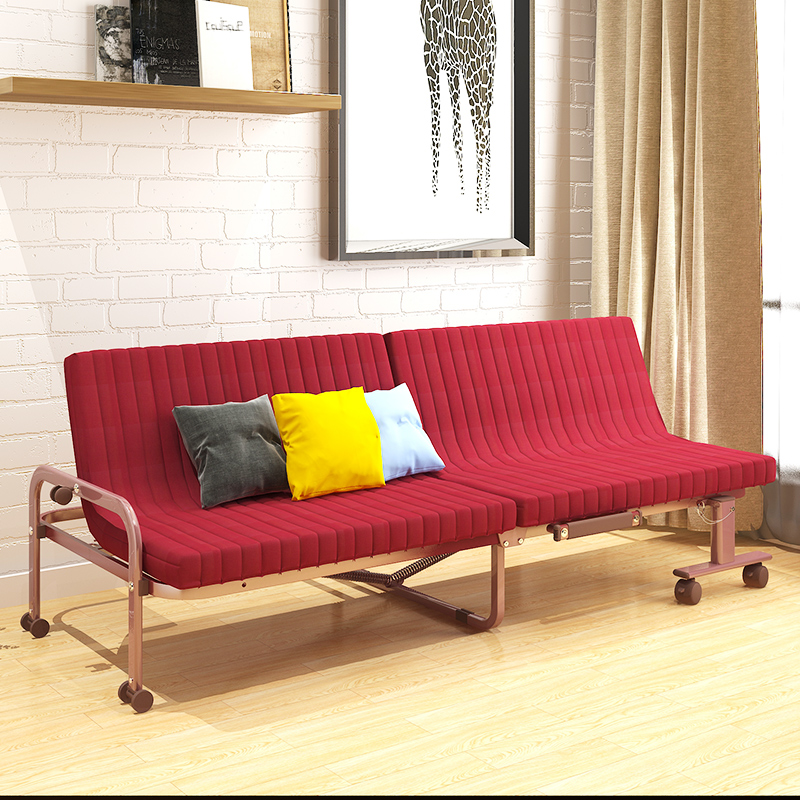 Modern minimalist interior living room, lazy sofa bed, creative multi-function folding chair, lunch bed, couch YJD168