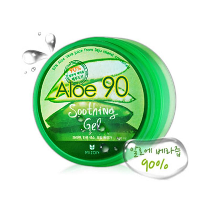 كوريا الجنوبية 90 ٪ الألوة فيرا هلام إلى بثرة حب الشباب مرطب يرطب ذكر السيدة إصلاح تدليك الوجه