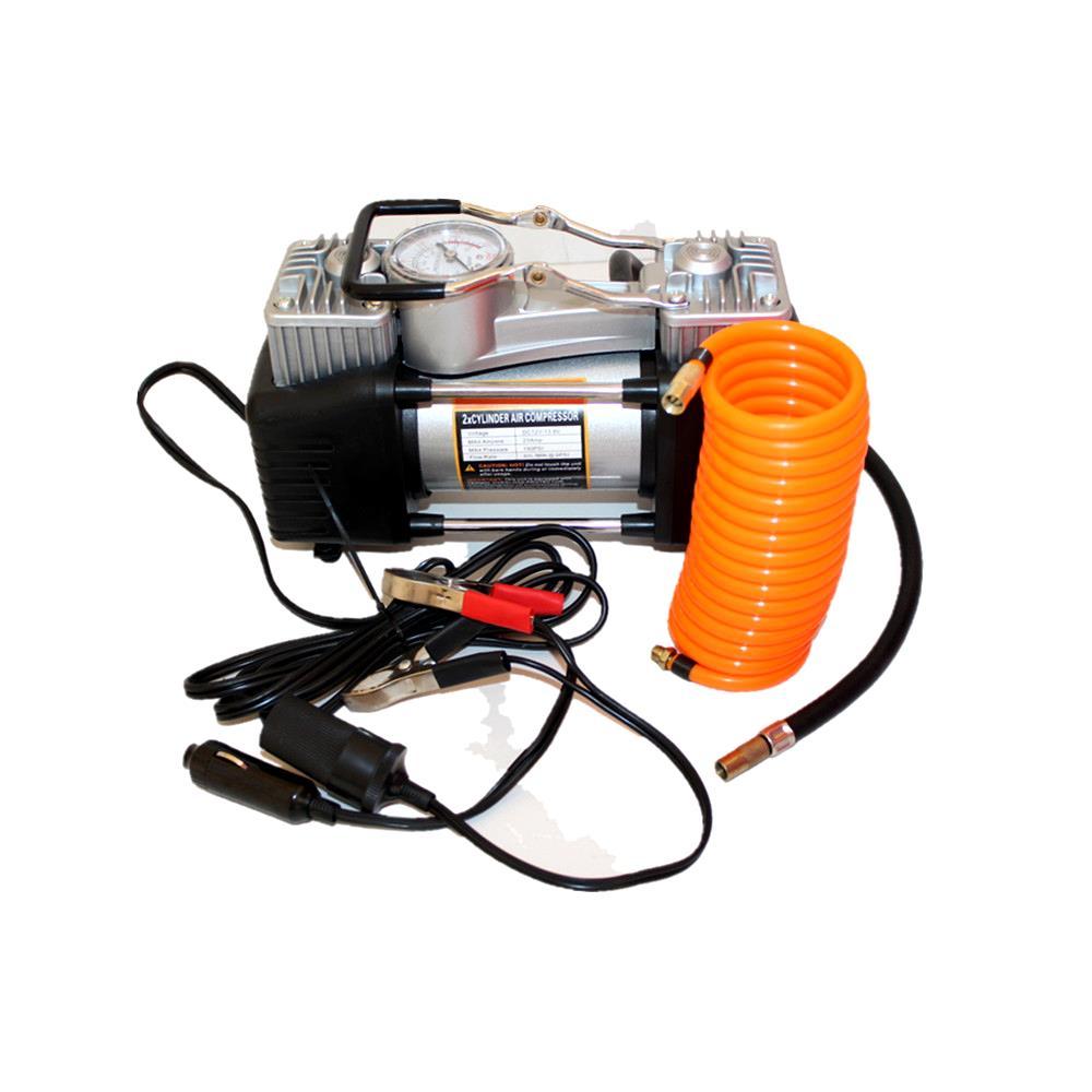 un vehicul de pompă electrică pompa de cauciuc de la pompa de aer singur cilindru dublu cu abur la 12 acasă.