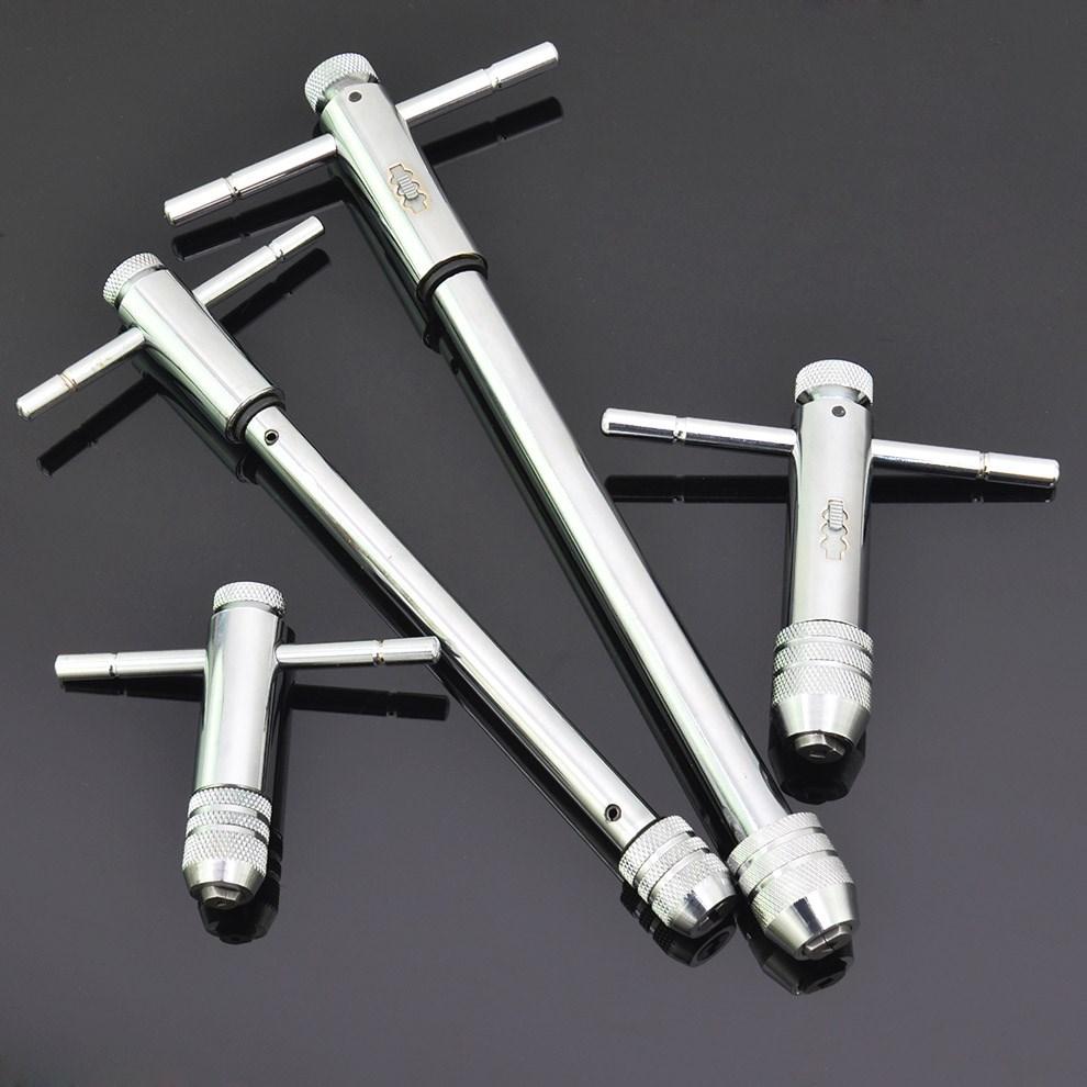 可変式ラチェットタップレンチ绞手糸攻め手M3-M8M5-M12剪む長く型タップレンチ