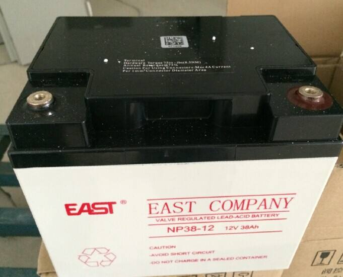 EAST battery NP65-12 direct selling DC panel UPS solar 12v65ah guaranteed for three years