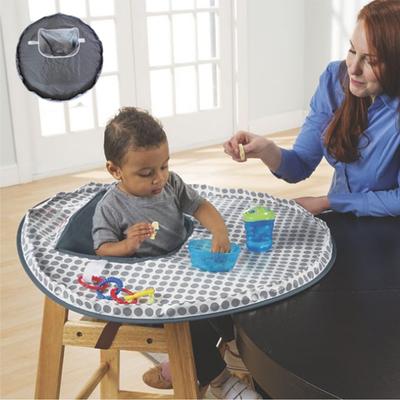 婴儿吃饭椅吃饭垫 座椅围垫 防止宝宝把食物乱扔 材质环保防水