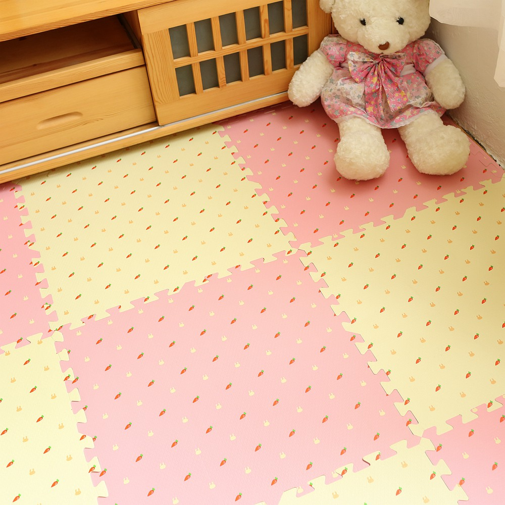 A foam mattress pad with bedroom bedroom tatami children puzzles stitching dormitory household plastic plate 60x60