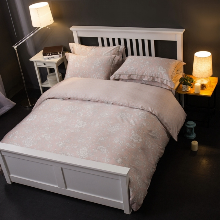 Tencel sijiantao 60 genuine spring smooth naked 1.8m2 meters Modaier 4 sets of bedding quilt