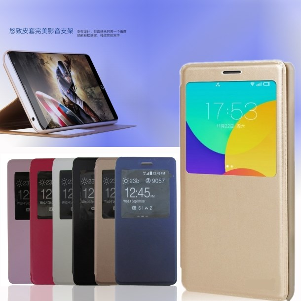 Jin M5 leather M3S leather F303 windows mobile phone set rollover protective shell F103 mobile phone shell