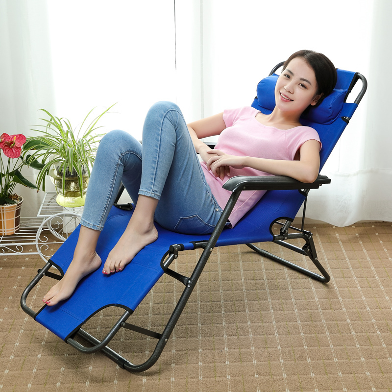 Single living room, bedroom, leisure lunch, lunch bed, men and women convenient office folding bed special chair YST66