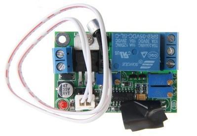 التحكم الصوتي ضوء / الاستقرائي التبديل 12V التبديل تأخير إعداد وحدة تحكم قابل للتعديل 4V5V / / 2 صوت التتابع