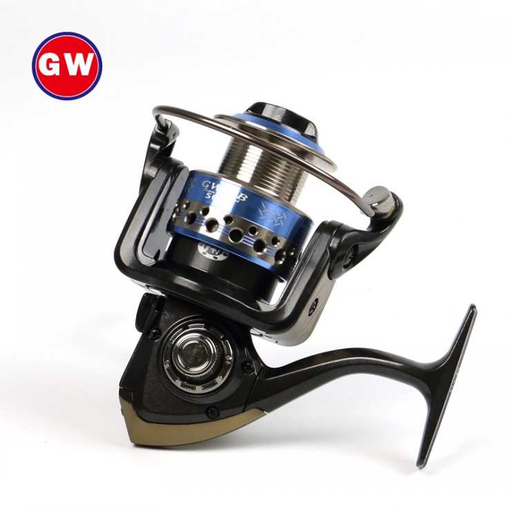 Koi fishing GWGB9 axis spinning reel fishing rod wheel from the raft Yalun road shot
