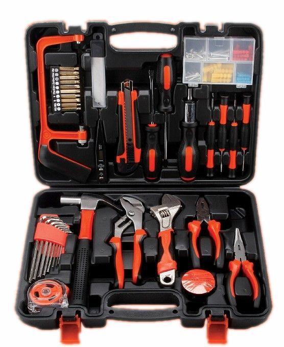Manuale di Hardware per la Lavorazione DEL LEGNO rivestiti rivestiti cassetta degli attrezzi Elettrici domestici riparazione strumenti combinati dono di Serie