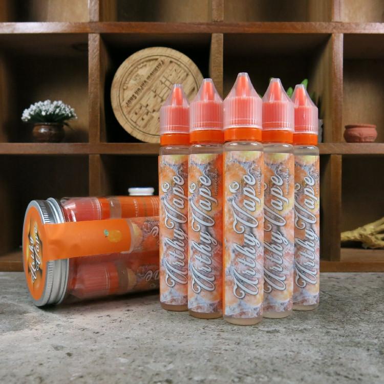 США на импорт Аутентичные UithyVape кумкват лед электронных сигарет апельсины мята фруктовый вкус дыма 30ml
