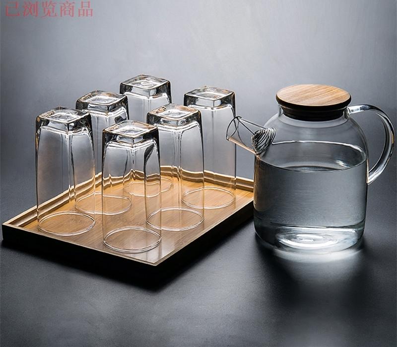 Kristallglas - Cup gesetzt keine deckung der teetasse wohnzimmer tee tasse Wasser Büro - Cup runde