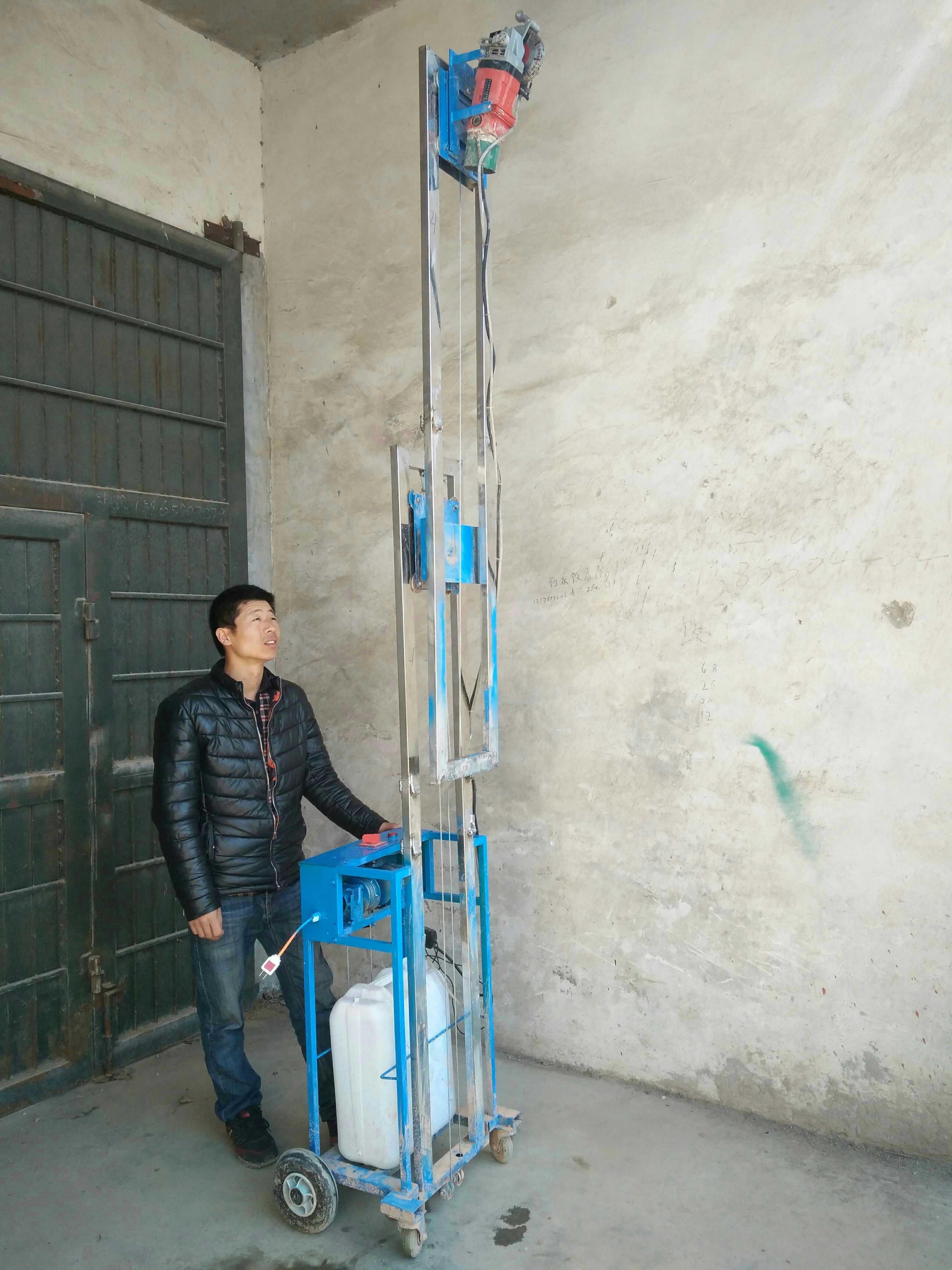 Schneidemaschine, die einmal multifunktionale wasserkraft staubfreien keine sackgassen Beton - Wand - Maschine eine automatische