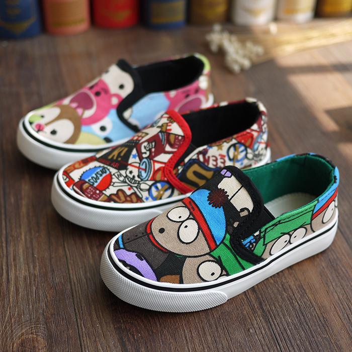 幼儿童鞋帆布鞋女童乐