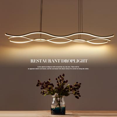北欧创意个性吊灯后现代简约led服装咖啡馆店铺工作办公室餐厅灯