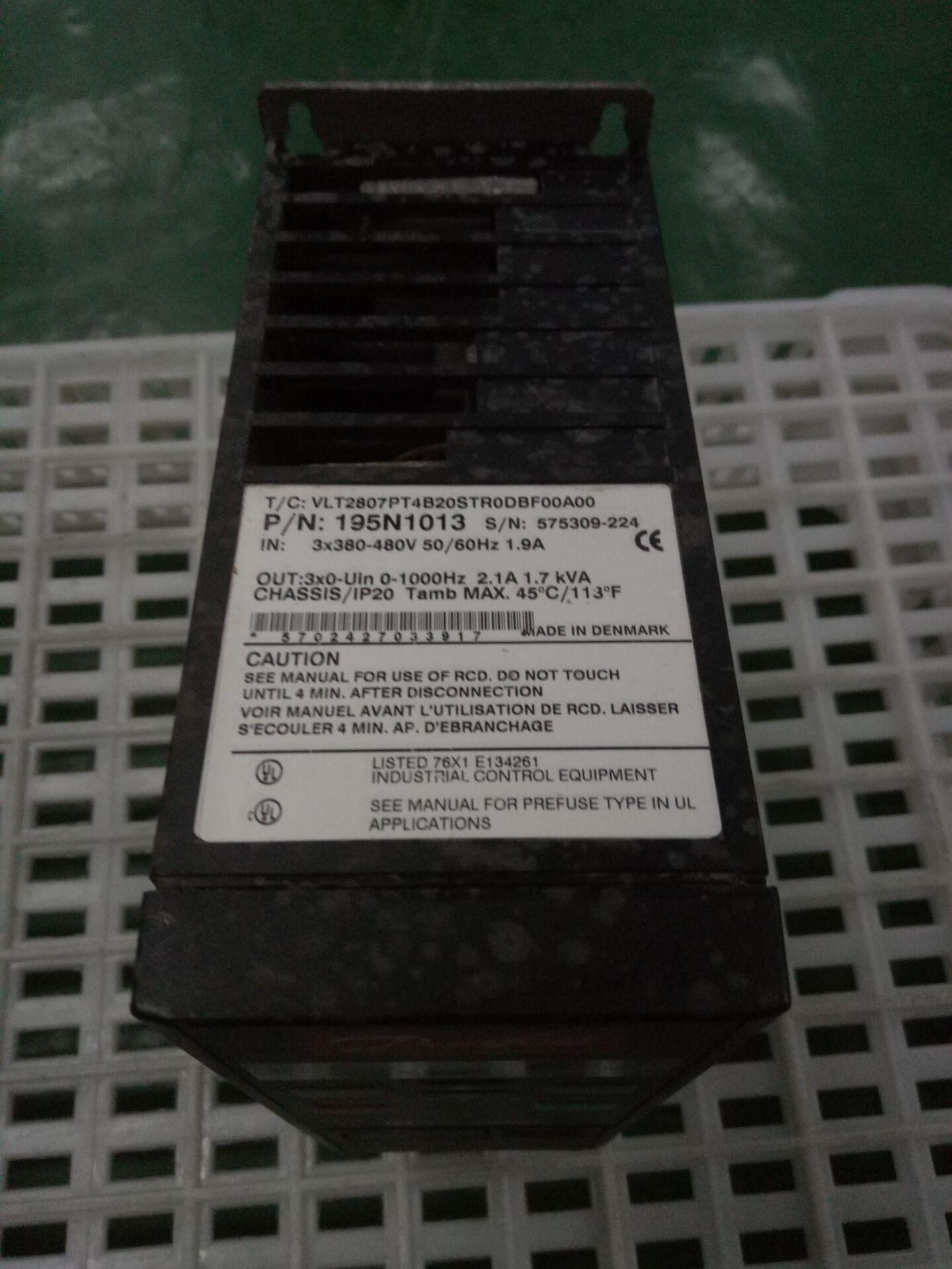 Danfoss VLT2807PT4B20STR0DBF00A00 inverter VLT2800 series of disassemble