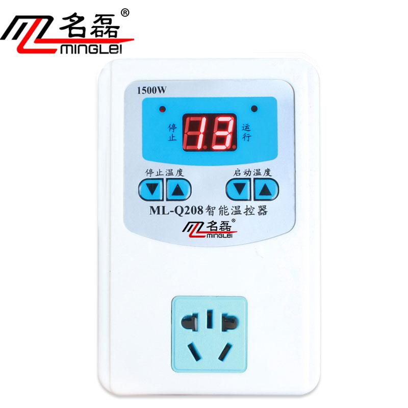 pompa ciepła regulatora temperatury przejścia ściany do regulacji temperatury pieca automatyczny cyfrowy inteligentnego, regulatora temperatury 220v