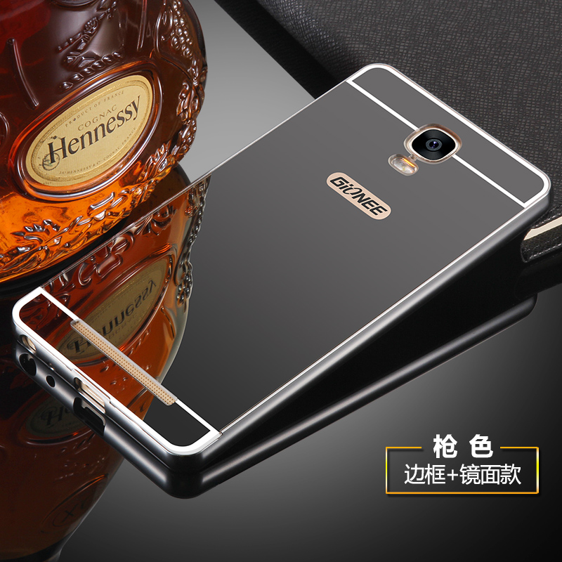 Jin m5plus gn8001 mobile phone shell metal frame cover to protect the puls 5pius female fall