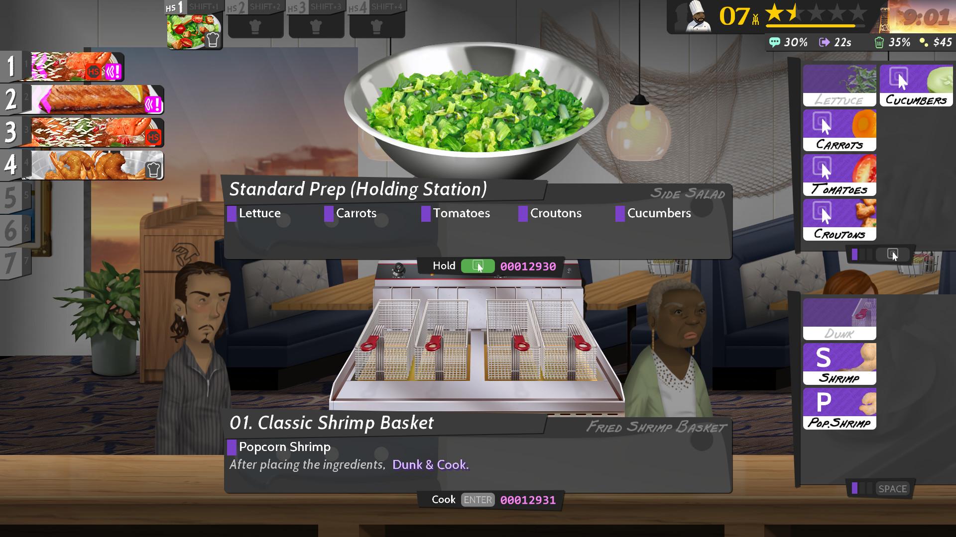 ¡La PC original cocina deliciosos platos, vapor, 2Cook, servir, en la zona 2 delicious!!!