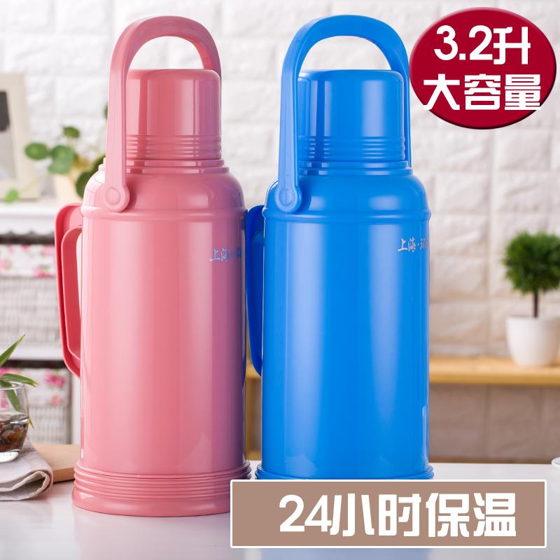 プラスチック魔法瓶ポットガラス内部大容量ボトルごL8ポンドポンド3.2L包郵