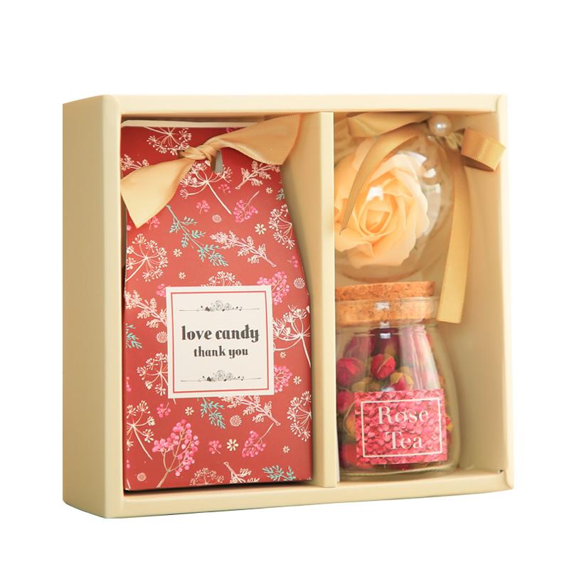 Vivi Monet série de boîtes de bonbons de produits finis boîte carrée cadeau souvenir en pleine lune des cadeaux de mariage