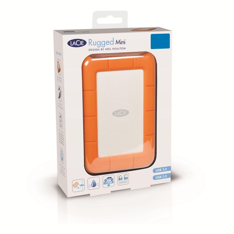 Lacie RuggedMiniUSB3.04T4TB mobile festplatte LAC9000633 amerikanische direktwerbung