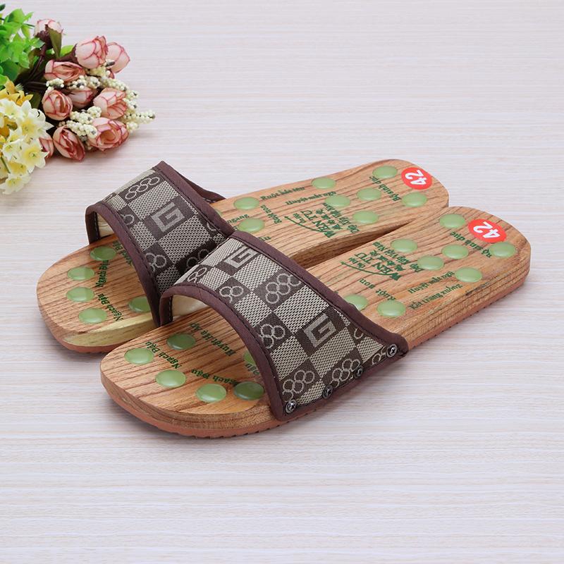 一字拖鞋男日常木屐拖鞋夏季越南拖鞋木板鞋男女家居足疗鞋子新款