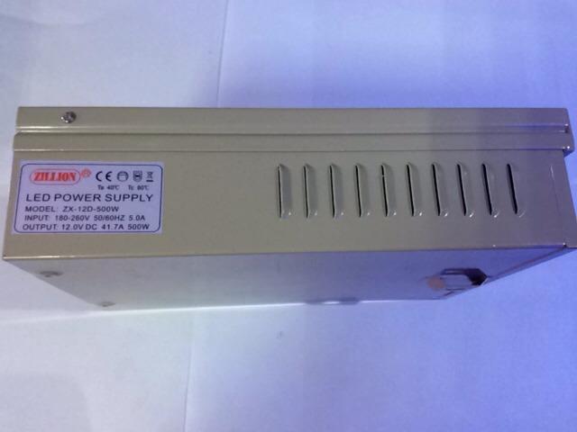 Die echten hersteller 12V500W zhixin marke Led - Power - LED - Lampe MIT transformator