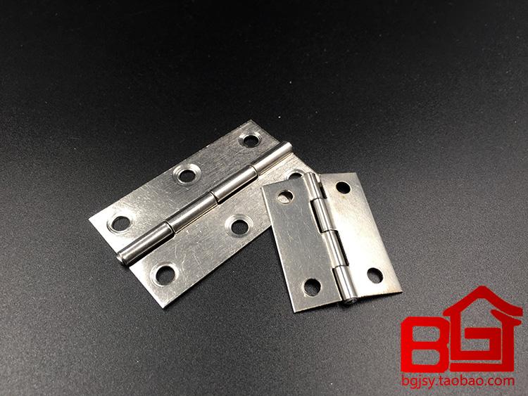Edelstahl - scharnier die wohnung öffnen Kleinen scharnier 1,5 inch / Zoll /2.5 zentimeter / 3 zentimeter / 4 zentimeter ein scharnier kisten.
