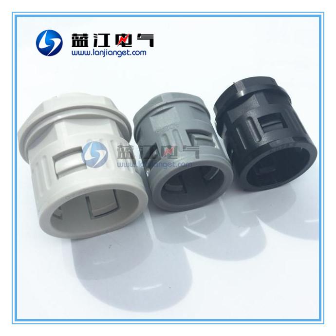 AD34.5 común fuelle rápidamente la manguera de acoplamiento rápido de una ola de tubo conector nylon tubo conector de contado
