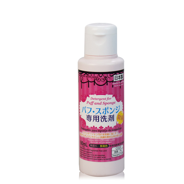 Japan Daiso Dachuang puff spot cleaning agent brush cotton sponge cleaning agent 80ml