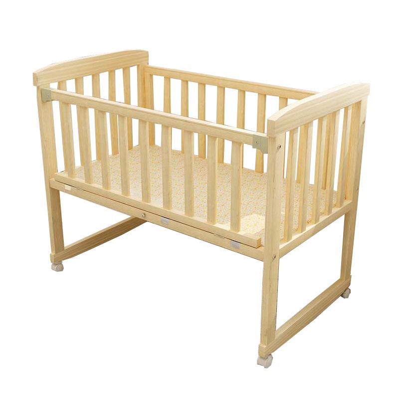 μωρό μου κρεβάτι ξύλο πολυλειτουργική χωρίς μπογιά βρεφικό κρεβάτι πτυσσόμενο κρεβάτι, το λίκνο της ββ το μωρό σε κρεβάτι κουνουπιέρα κρεβάτι