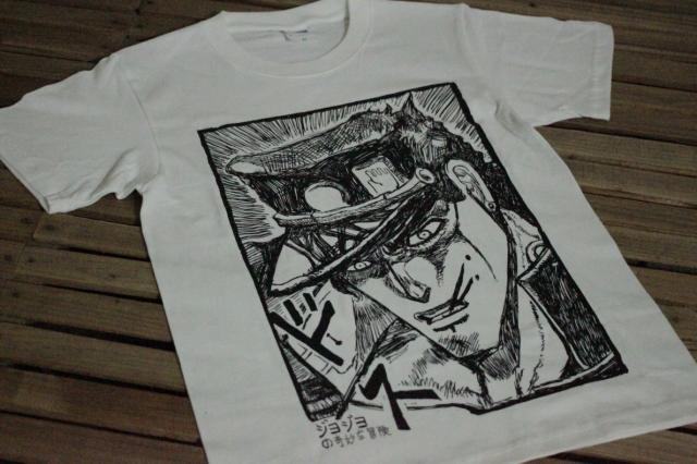 Jojo étrange aventure Cheng Tai Lung caricature part de dessin de styles courtes coton imprimé de t - shirts