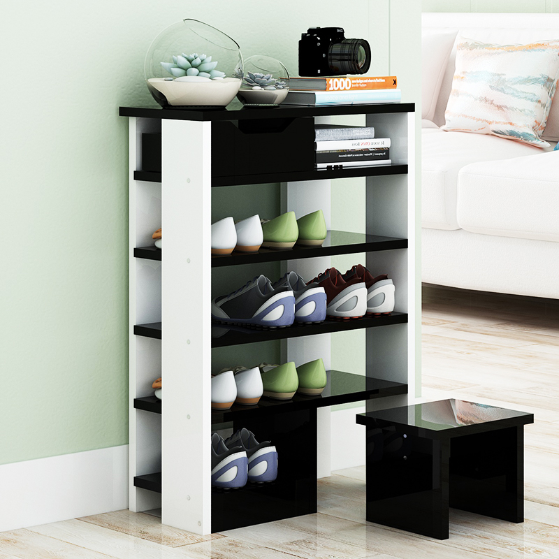 Multistrato scarpiera Scarpa in cornice semplice Famiglia Speciale assemblea Moderno e semplice polvere dormitorio con le scarpe.