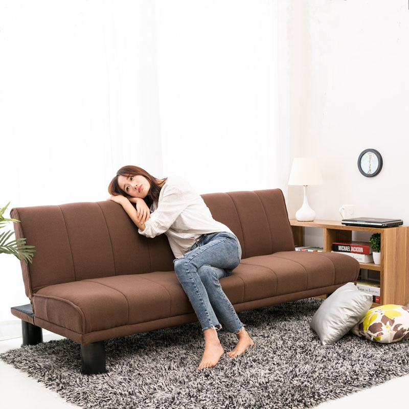怠け者ソファベッド1 . 8の小型寝室リビング单双三人洗い張り折りたたみカジュアルソファにメートルの布