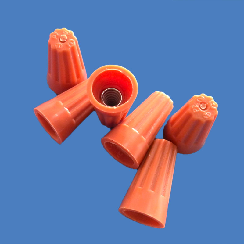 Connection cap, P2 pressure line cap, wire connector, spring screw type rotary terminal connector, insulation cap 1000 grain