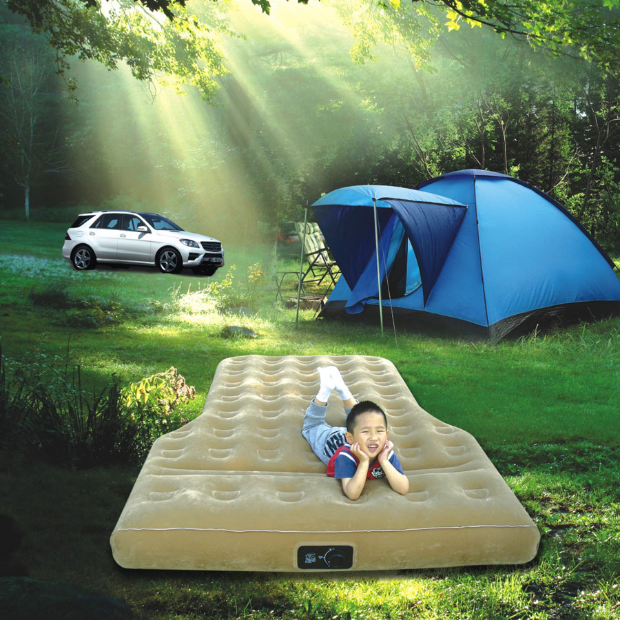 Yi Zhi vehicle inflatable mattress car air cushion bed bed double bed SUV car travel car children bed mattress