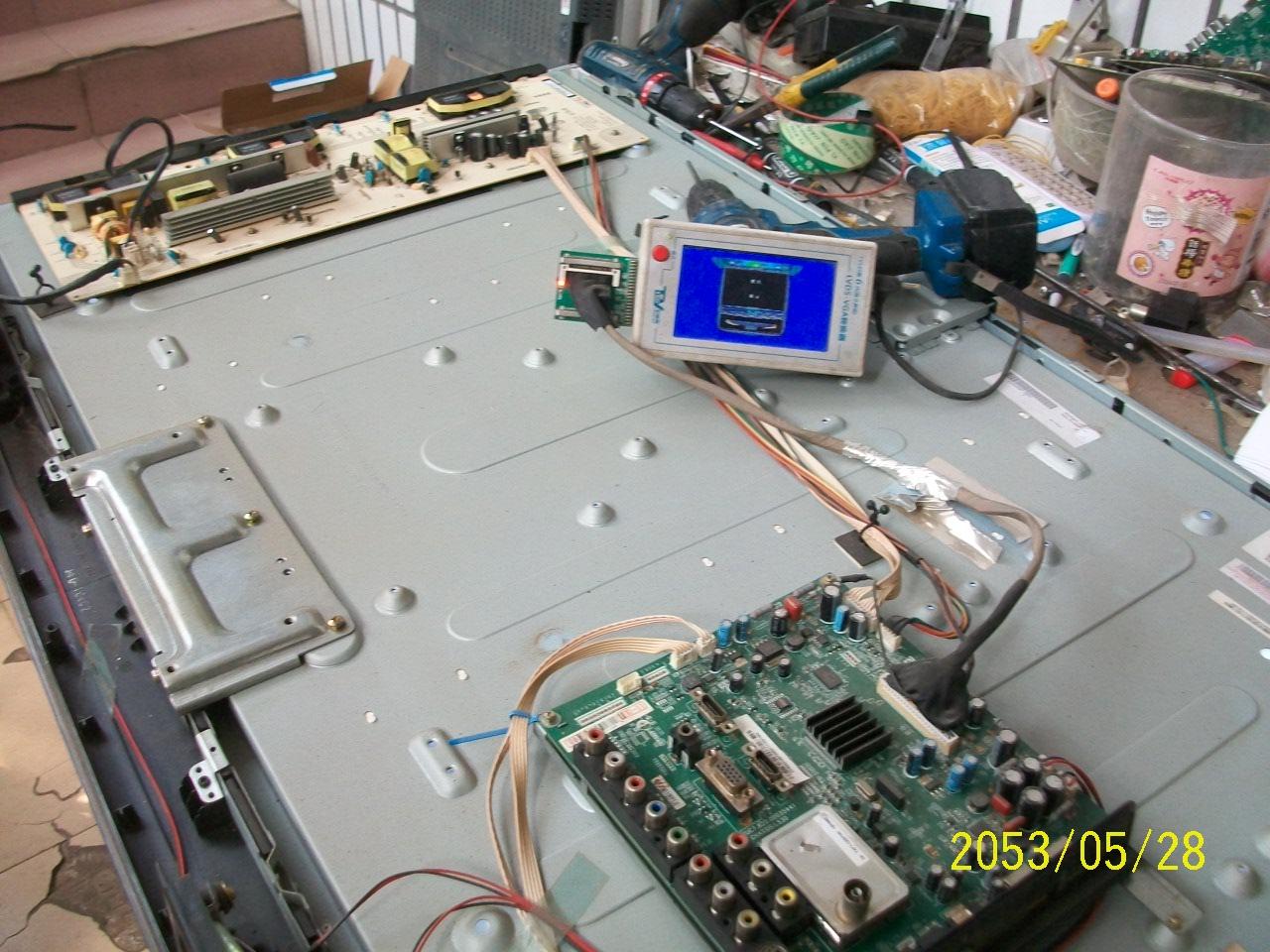 changhong 42 tuuman lcd - LT42630FX tv - power - levy R-HS180P-3HF01