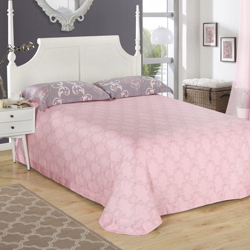 The wind in spring and summer school a genuine double four piece 60 satin silk quilt, bedding