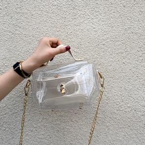 透明手提小包