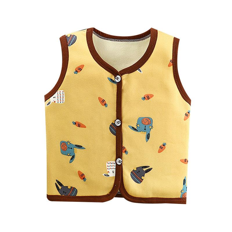 【爆款】秋冬儿童开衫背心加绒马甲