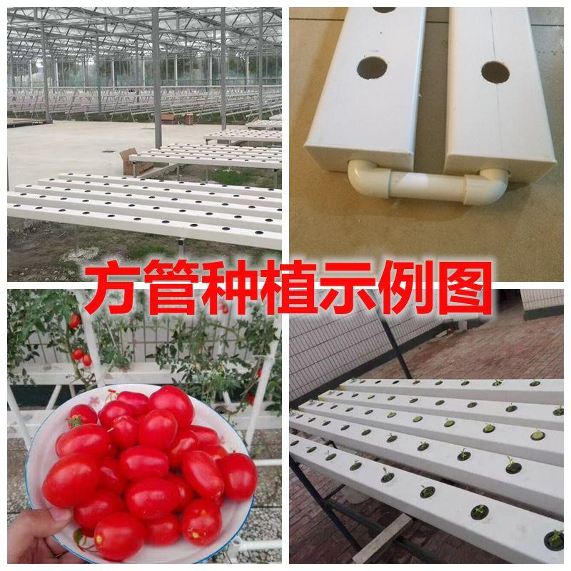 Las tuberías de PVC tipo Plaza de hidroponía alcantarilla el tubo de plástico al sistema de drenaje de agua de lluvia.