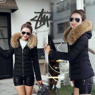 而絔短款棉衣女新款冬季韩版潮流百搭加厚羽绒棉服时尚女棉袄FF34
