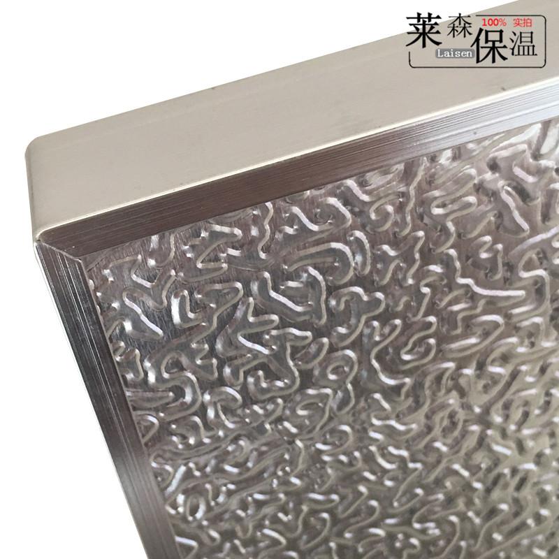 L'Isolamento termico di Gas A prova di fuoco frigorifero piatto della Cucina di Isolamento termico del Forno a Gas della Cucina di Prevenzione dell'Inquinamento da petrolio del focolare con un piatto di Isolamento termico
