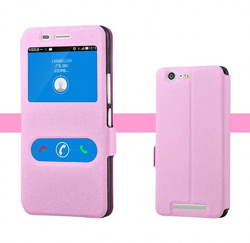 Jin Jin M5L M5 mobile phone set window flip holster M5 silicone protective cover and shell