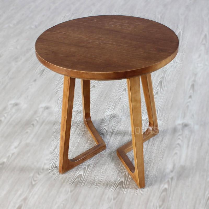 LOHAS欧風木造コーヒーまどか機アメリカンゴム木円形ソファし旧シンプル茶卓